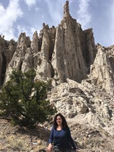 Abiqiiu white cliffs, New Mexico